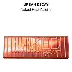 Urban Decay NAKED Heat Palette *used twice!*